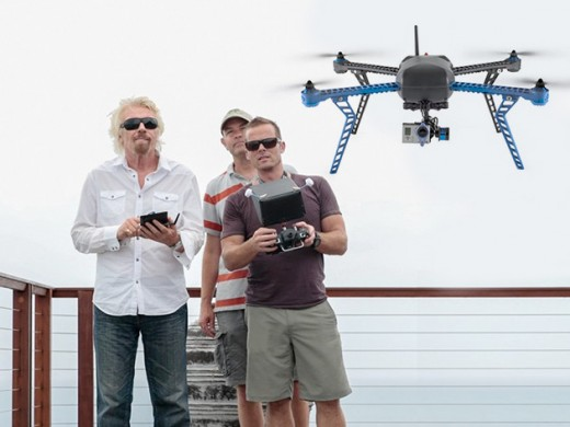 redesign Drone richardBranson1 1 520x390 Top drone deals of 2014