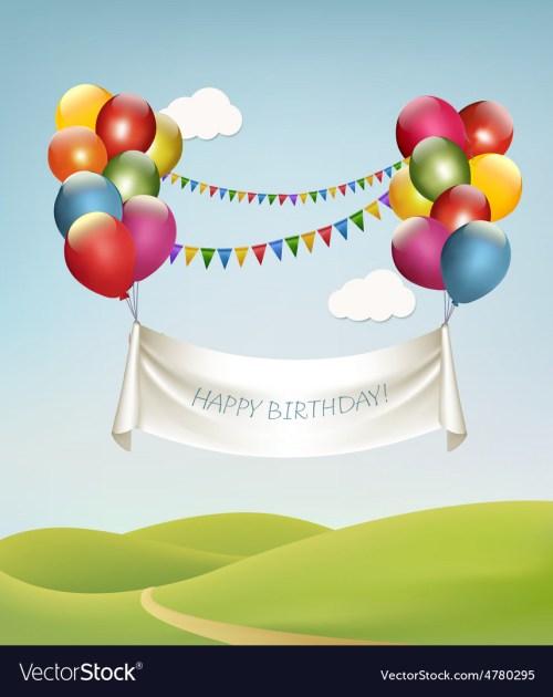 Medium Of Happy Birthday Banners