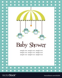 Small Of Baby Shower Card