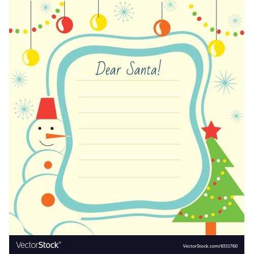 Medium Crop Of Christmas Letter Template
