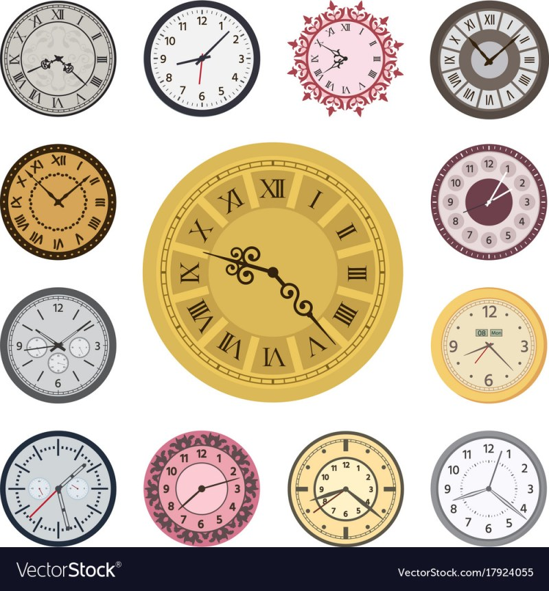 Large Of Fancy Clock Faces