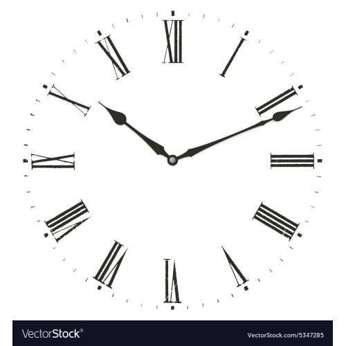 Medium Crop Of Roman Numerals Clock