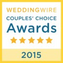 PS I Love You Ceremonies, WeddingWire Couples' Choice Award Winner 2015