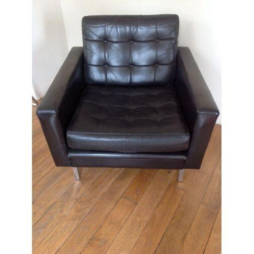 Medium Crop Of Mid Century Chair Leather