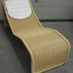 P 3s Deck Chair by Tito Agnoli for Pierantonio Bonacina for Sale At