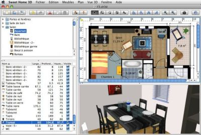 Download Sweet Home 3D for Mac OS X v5.4 (open source ...