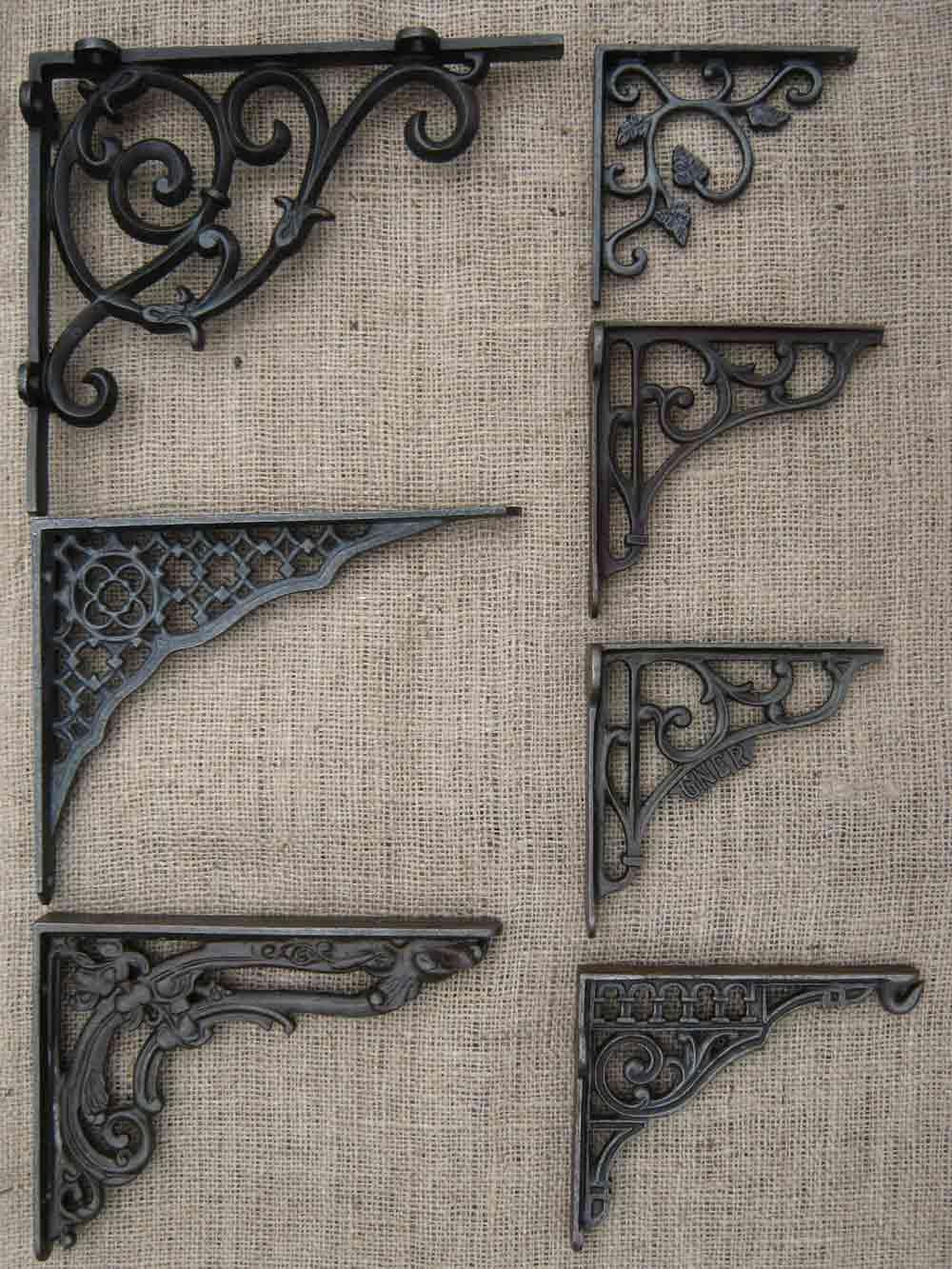 Fullsize Of Cast Iron Shelf Brackets