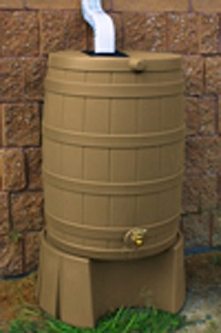 Small Of Rain Barrel Stand
