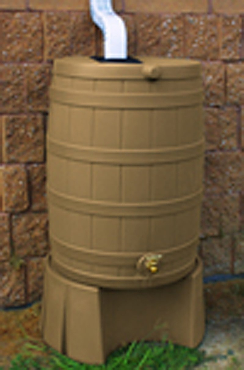 Large Of Rain Barrel Stand