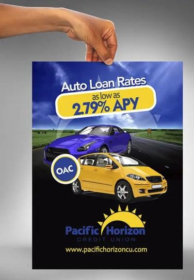 Flyer Design for Auto Loan Ad | Freelancer