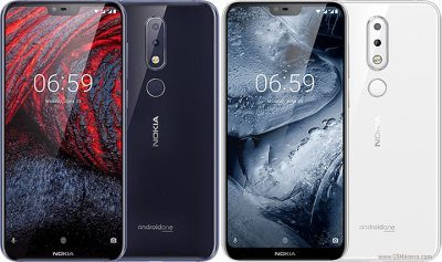 Nokia 6.1 Plus (Nokia X6) pictures, official photos