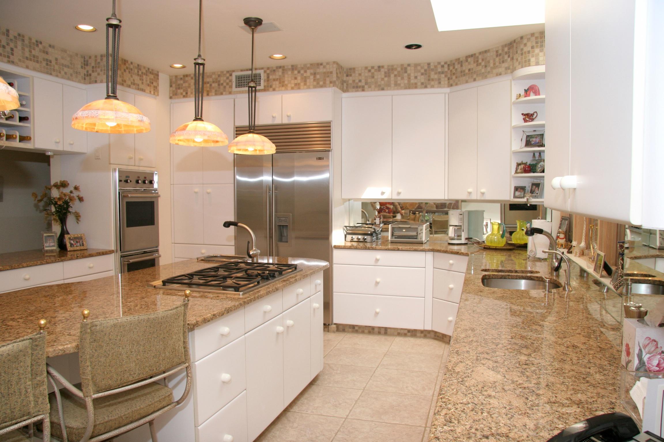 beige and white kitchen cabinets beige kitchen cabinets White