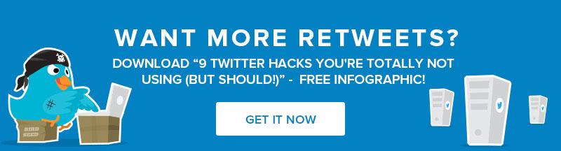 Grow Twitter Retweets Infographic