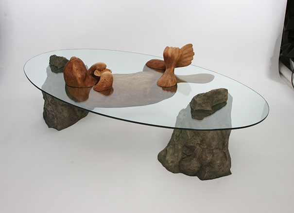 mesa animales en el agua 2