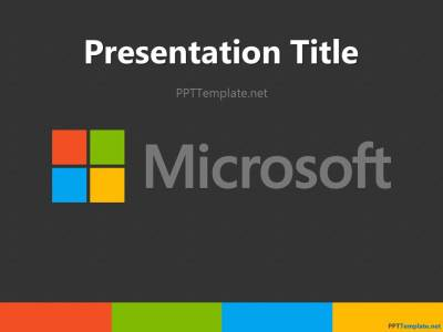 Free Microsoft PPT Template