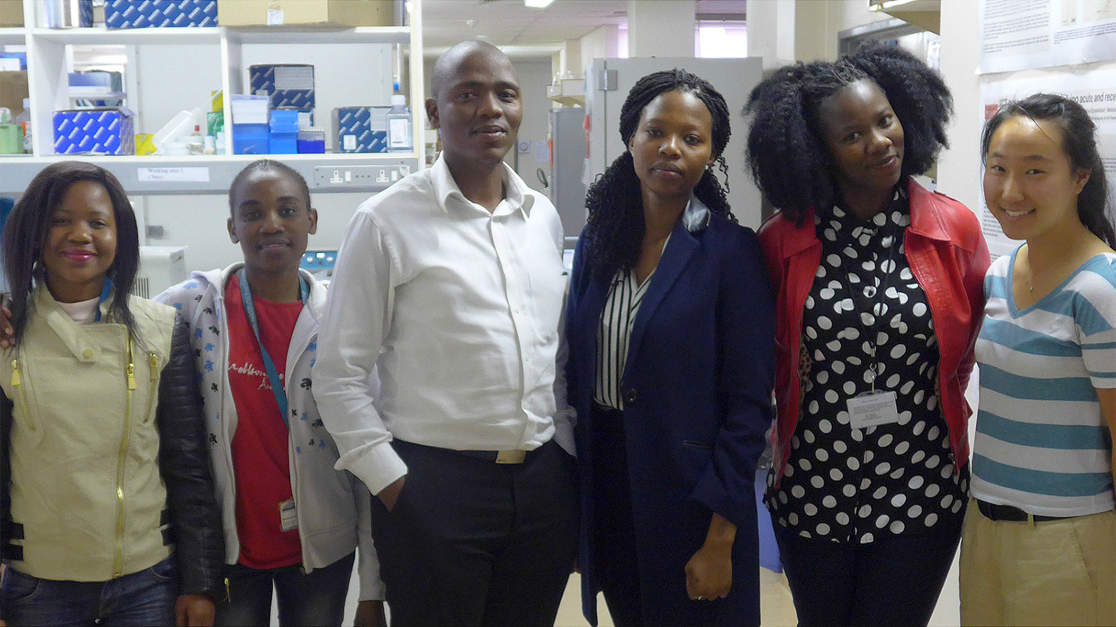 Young Scientists at the Botswana Harvard Partnership
