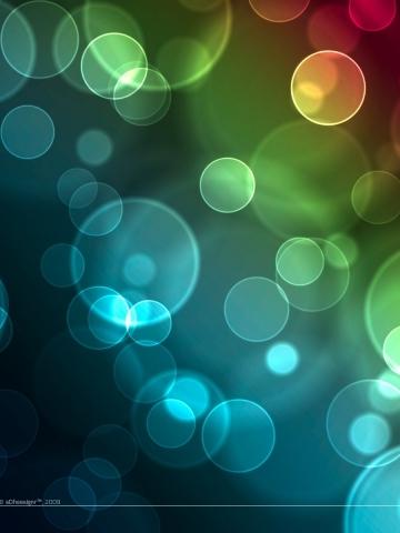 3D Bubbles Wallpaper | iPhone | Blackberry