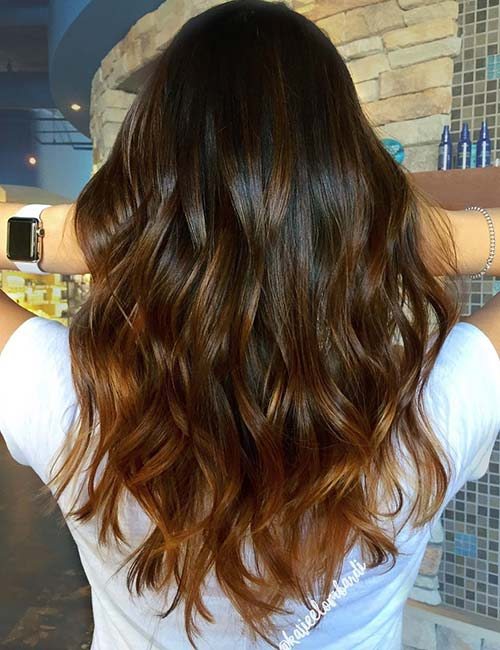 Brown Hair Color With Highlights Ideas Anexa Beauty
