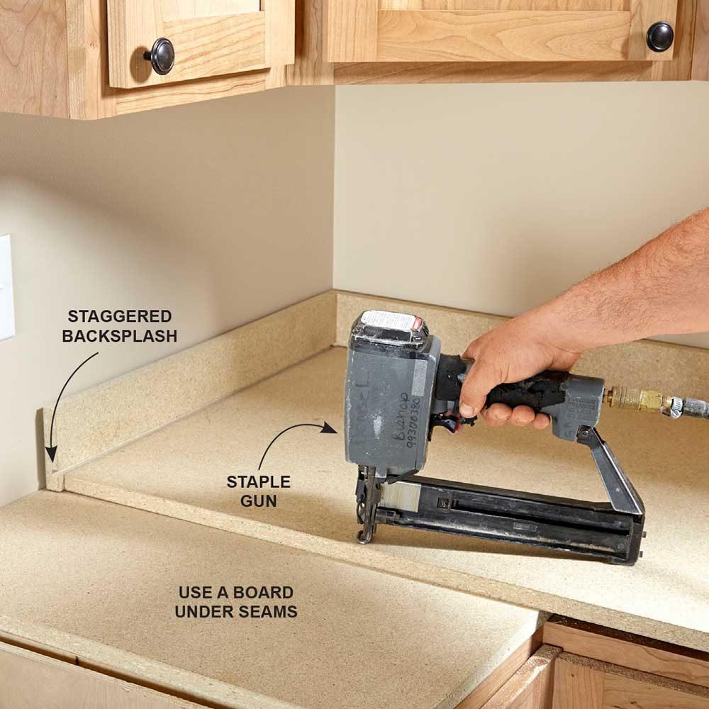 installing laminate countertops formica kitchen countertops Raise the Countertops