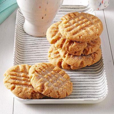 Peanut Butter Cookies Recipe | Taste of Home