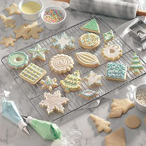 6 Tips for Decorating Christmas Cookies   Taste of Home Vanilla Butter Cutouts Recipe