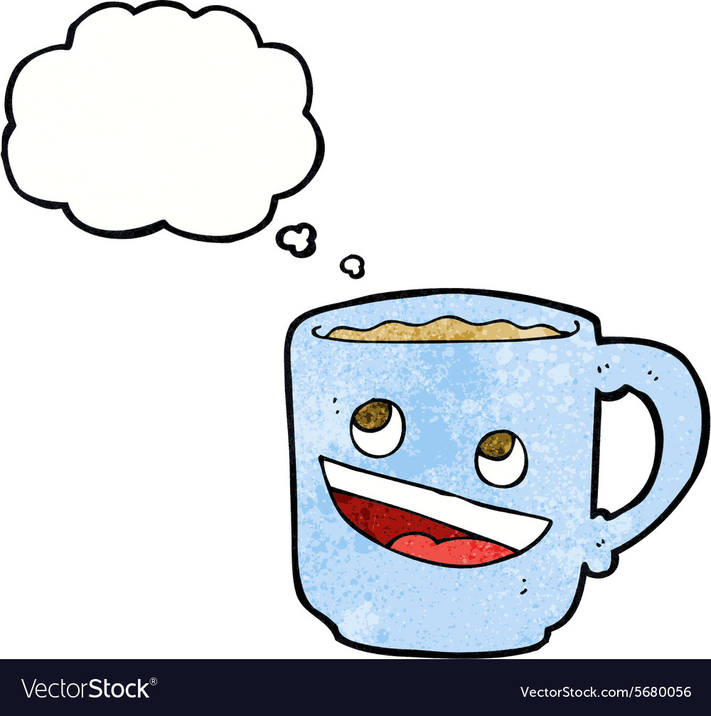 Nice Cartoon Coffee Mug Thought Bubble Royalty Free Vector Cartoon Snow Disney Coffee Mugs New Yorker Cartoon Coffee Mugs Thought Bubble Vector Image Cartoon Coffee Mug furniture Cartoon Coffee Mug