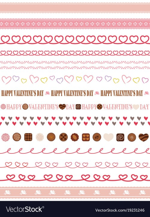 Medium Of Valentines Day Borders