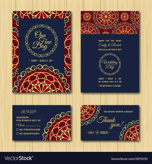 Cute Save Date Rsvp Cards Wedding Invitation Orange Vector Image Save Date Rsvp Cards Wedding Invitation Orange Number Rsvp Cards Wedding Rsvp Cards Wedding