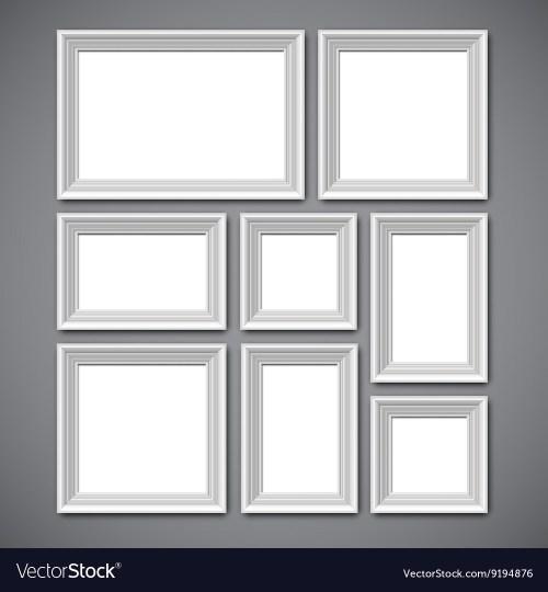 Medium Of Picture Frame Collage