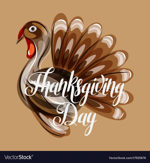 Medium Of Happy Thanksgiving Image