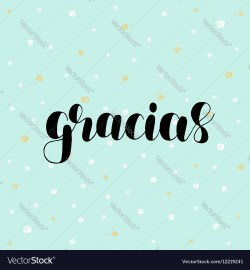 Small Of Spanish For Thank You