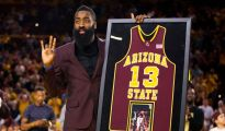 WATCH: James Harden Jersey Retired At ASU [VIDEO]