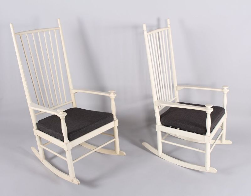 Large Of White Rocking Chair