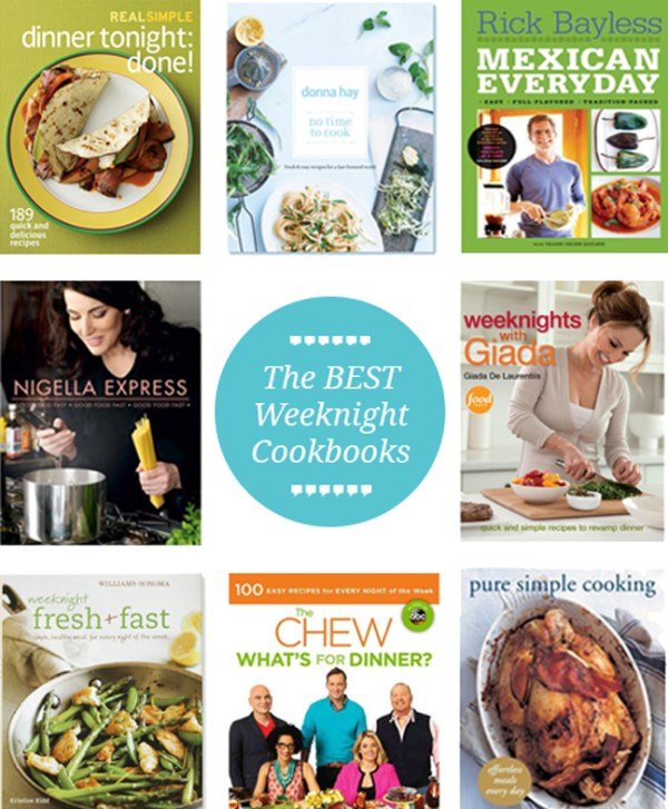 best-weeknight-cookbooks
