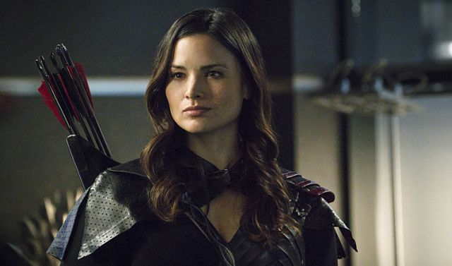 Katrina Law Talks Nyssa al Ghul on Arrow, the Resurrection of Sara Lance.