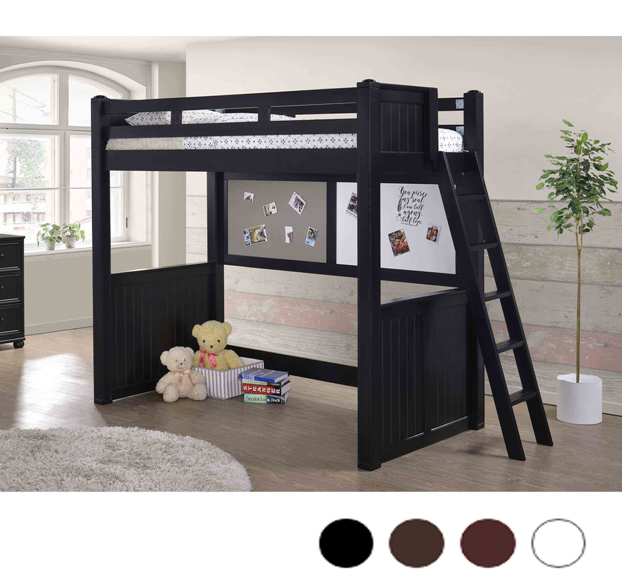Fullsize Of Wood Loft Bed