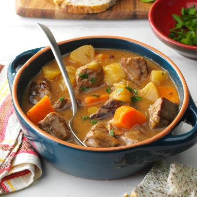 Ravin' Good Stew Recipe | Taste of Home