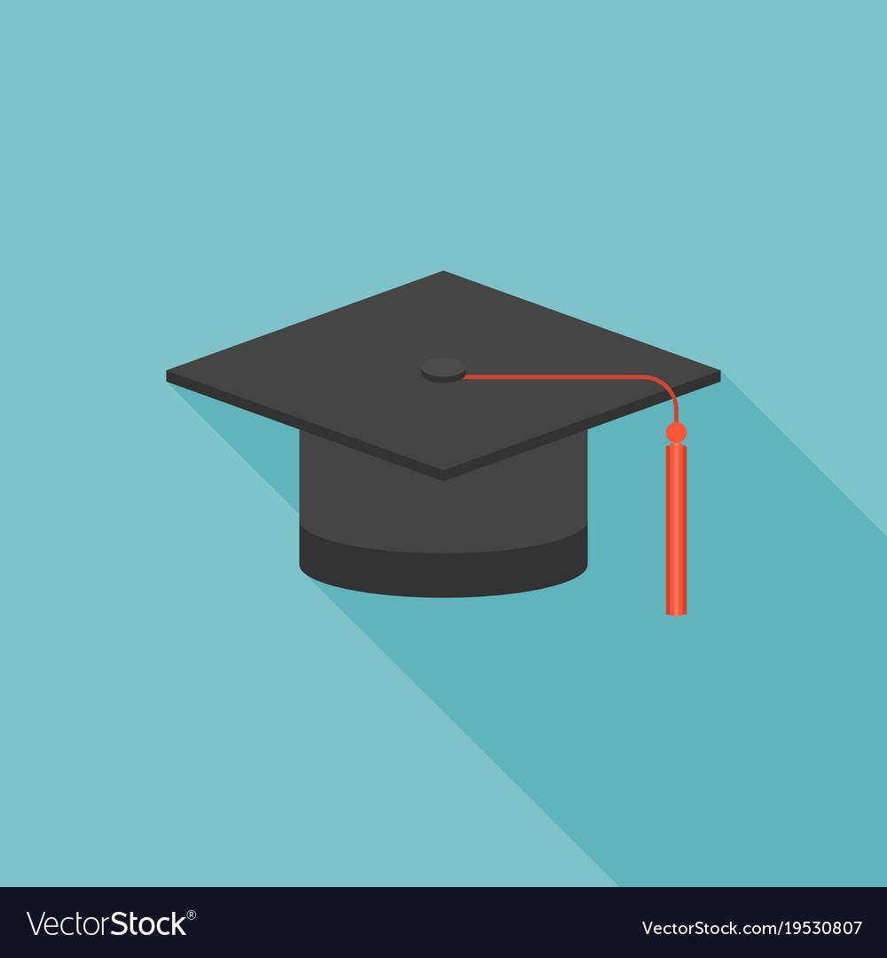 Seemly Graduation Cap Icon Vector Image Graduation Cap Icon Royalty Free Vector Image Vectorstock Graduation Cap Icon Download Graduation Cap Black Icon ideas Graduation Cap Icon