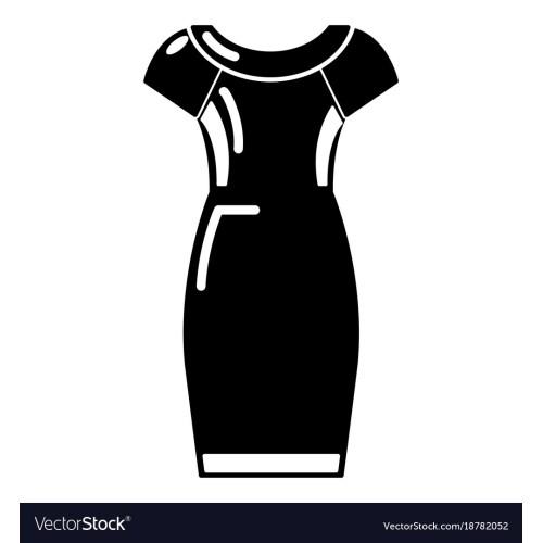 Medium Crop Of Simple Black Dress