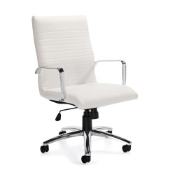 Small Crop Of White Office Chair