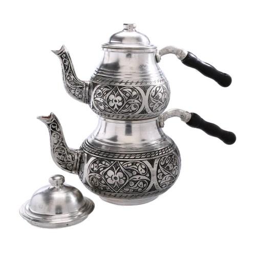 Swish Tray Turkish Tea Set Ebay Engraved Turkish Tea Pot Tinned Copper Turkish Tea Set