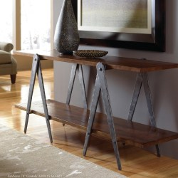 Small Crop Of Industrial Console Table
