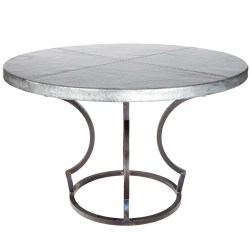 Small Of Zinc Table Top