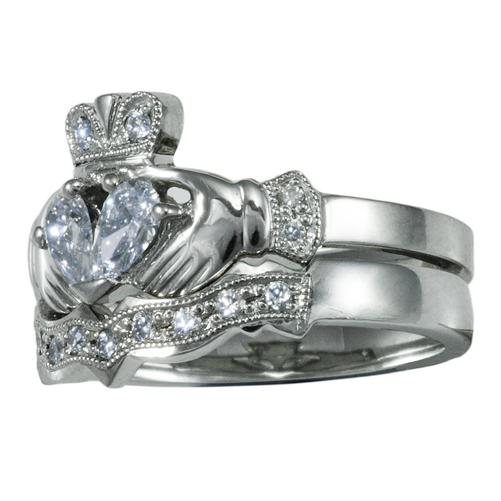 clzkw wedding rings set