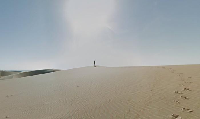 Desert mystery man