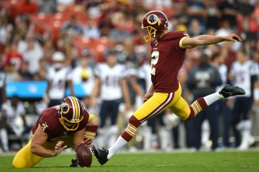 453316756.0 Kai Forbath vs Zach Hocker: The Fight to be the Washington Redskins Kicker in 2014