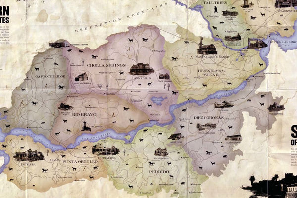 9 Things We Learned From Red Dead Redemption 2 s Leaked Map     Page 6 red dead redemption map