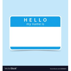Divine Blue Tag Sticker Hello My Name Is Vector Image Blue Tag Sticker Hello My Name Is Royalty Free Vector Image Hello My Name Is Tag Clipart Hello My Name Is Metag Canada