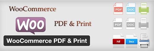 WooCommerce Print & PDF