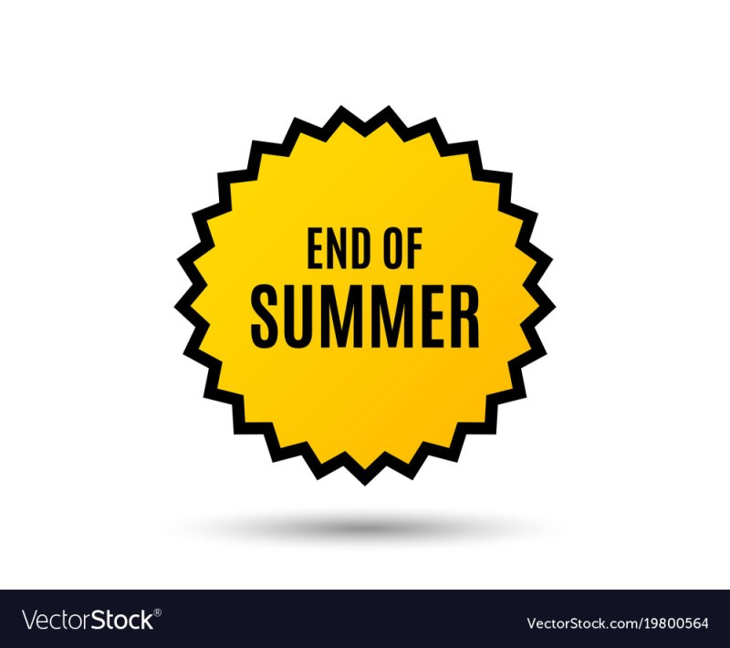 Large Of End Of Summer Sale